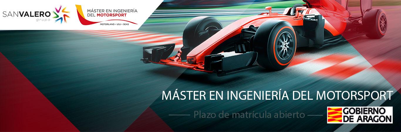 Máster en Ingeniería del Motorsport